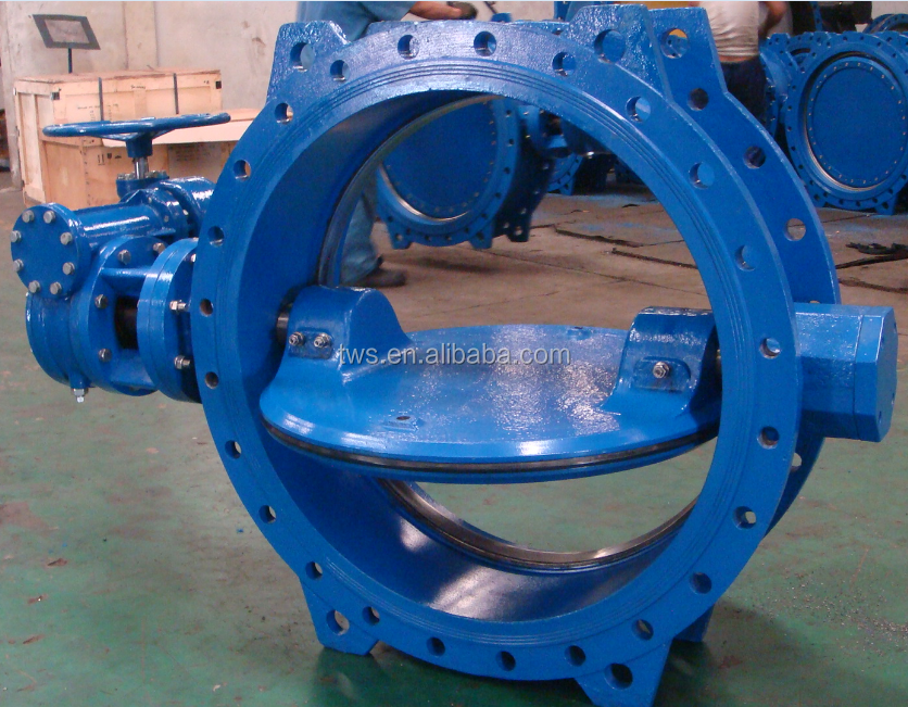 EN558-1 Short Pattern Double Offset Eccentric butterfly Valve