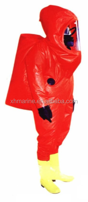 CCS EC Certificate Fire Fighting Chemical Safety Suit