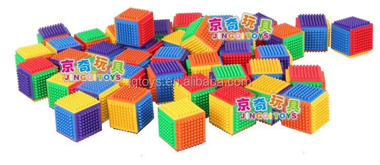 2017 Plastic Construction Cube Building Blocks For Kids - Buy ...