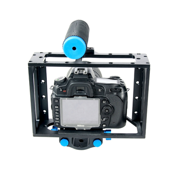 YELANGU Movie Filming Multiple Handles DSLR Camera Cage