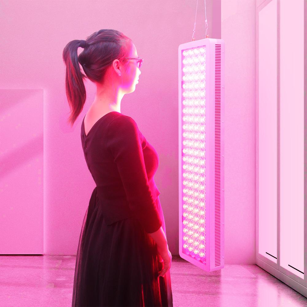 2019 Famiglia applicatioled rosso dispositivo di terapia della luce con il pannello di controllo, coreano bellezza terapia della luce della lampada photobiomodulation