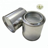 small candle tin jars with lever lid chemicals paint container metal can manufacturer in china