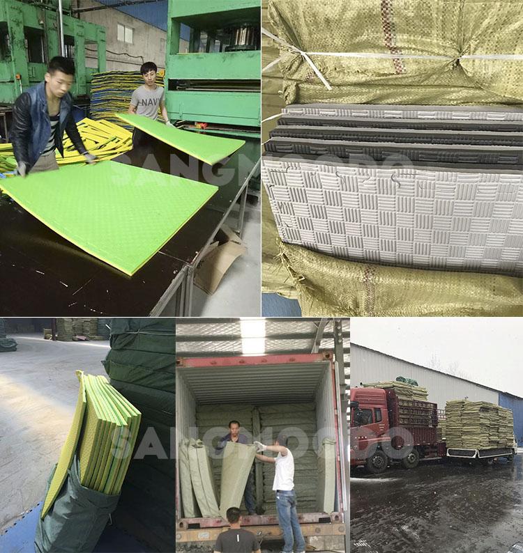 Olahraga Gimnasium Mats Busa Interlocking Floor Tikar Tatami untuk Anak Pelatihan