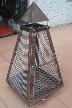 Pyramid Log Burner, Fire Pits, Patio Heater