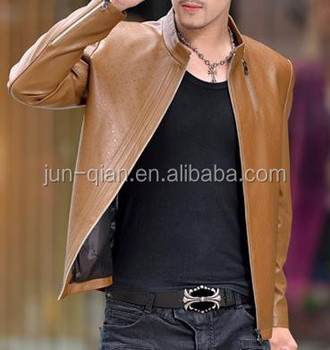 fdb96f6137 china wholesale original mens leather jacket pakistan garment washing
