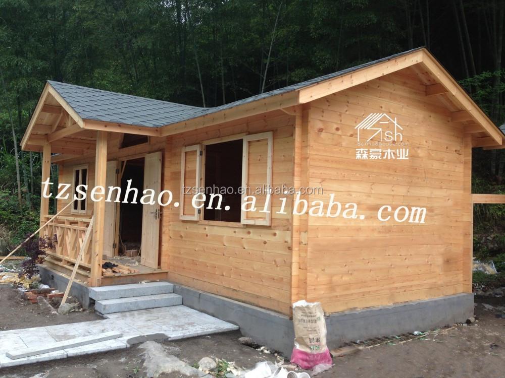 Tiny huizen draagbare hutten gebruikt houten huizen geprefabriceerde blokhutten villa 39 s - Kubieke villa ...