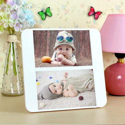 transparent acrylic display latest design of photo frame