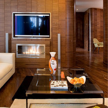 bioethanol fireplace 800*250*240mm / ethanol fireplace with remote control