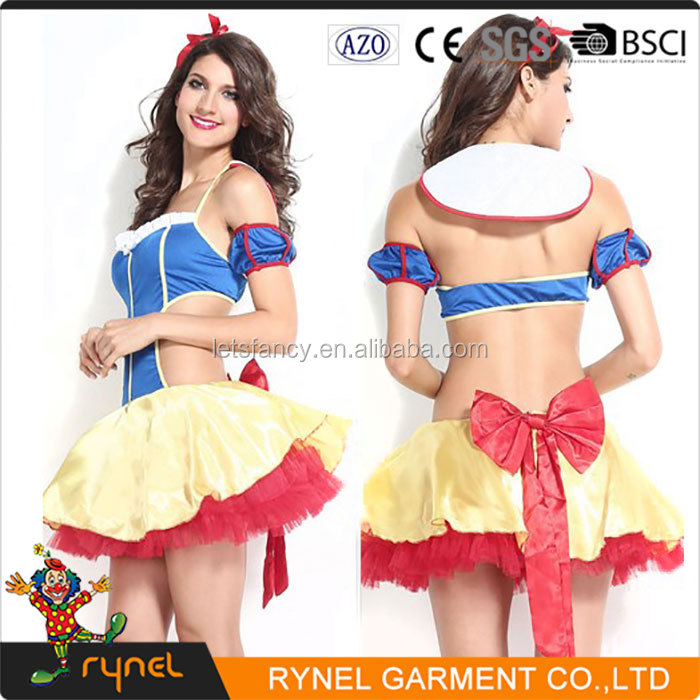 PGWC2538 Adult Girl Hot Fancy Dress Princess Snow White Cosplay Costume