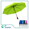 Hot Sale Sun Protection Cheap Color Change Green Color 3 Fold Umbrella