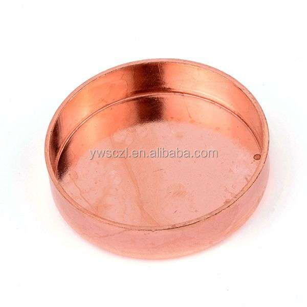 High quality copper pipe end cap buy