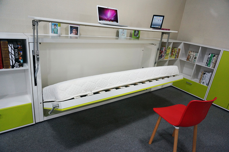 wall mounted bed ikea single size wall bed horizontal folding wall bed. Black Bedroom Furniture Sets. Home Design Ideas