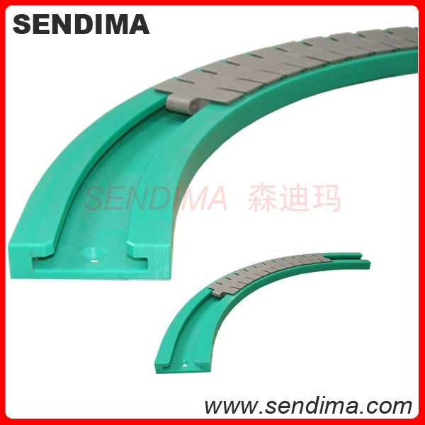 Professional custom made cnc machined low price uhmwpe plastic linear guide rail for elevator