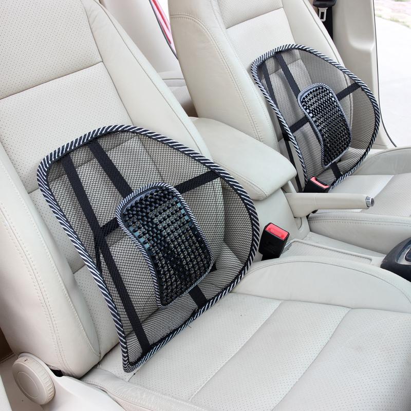 1PCS-Black-Mesh-Lumbar-Back-Brace-Support-Office-Home-Car