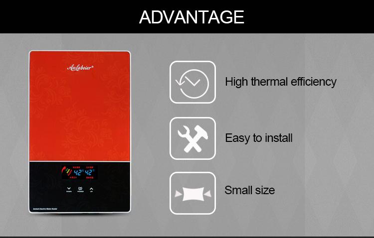 Большой расход многоточечный Малый размеры водонагреватель ванной комнаты tankless HY-80_05.jpg