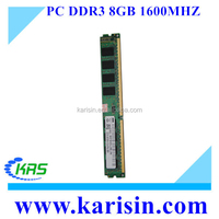 High qualify computer pc12800 1600 memory ram ddr3 8gb with best factory price