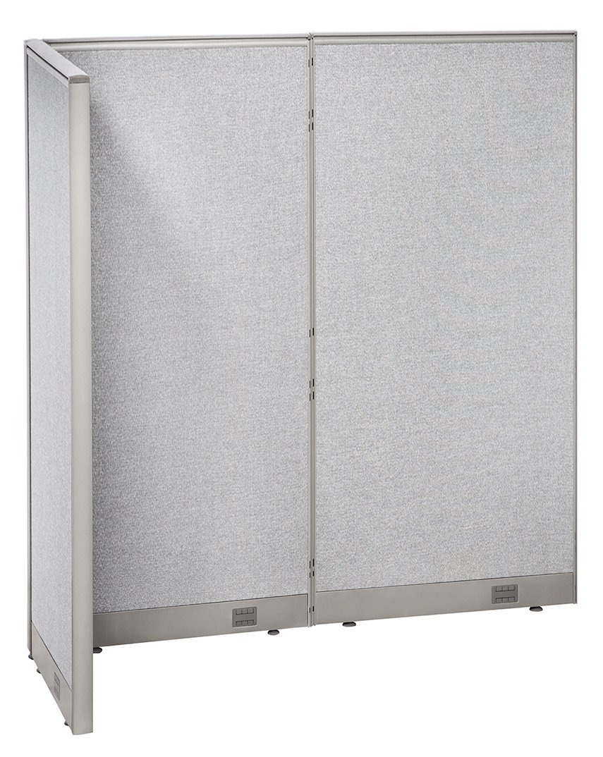 GOF L-Shaped Freestanding Partition 30D x 60W x 72H / Office, Room Divider (30d x 60w x 72h)