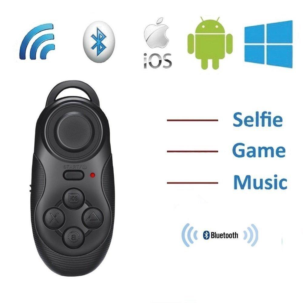 25c9a3f2050f ddLUCK Wireless Gamepad   Selfie Shutter Remote VR BOX s Partner Gamepad  Joystick Controller Selfie Remote Shutter
