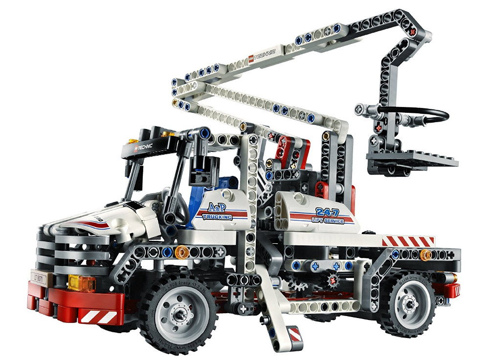 UKLego Technic City Series Bucket Truck Building Blocks Bricks Model Kids Toy.