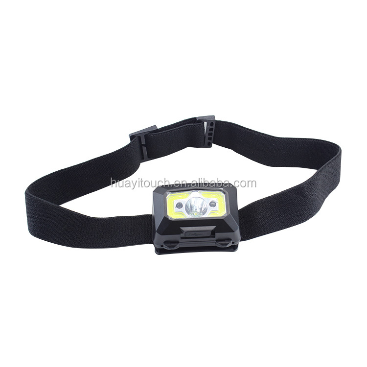 3LED Running Headlight Mini Portable Headlamp Easy For Carry Fishing Headlamps