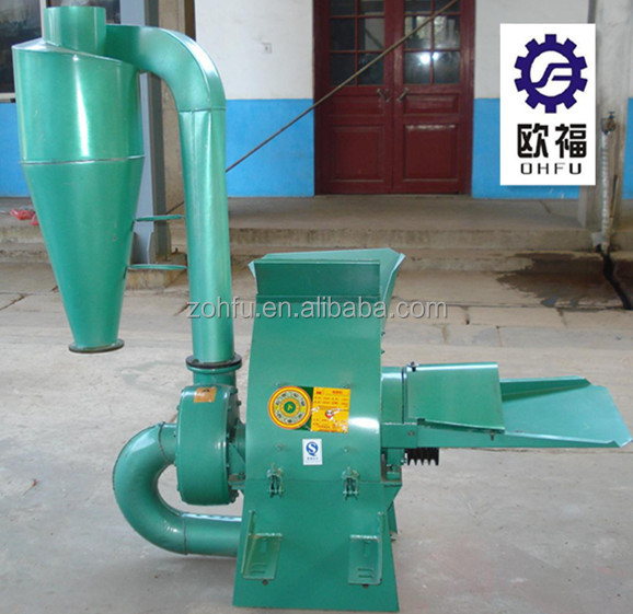 mini corn stalk rice wheat straw shredder