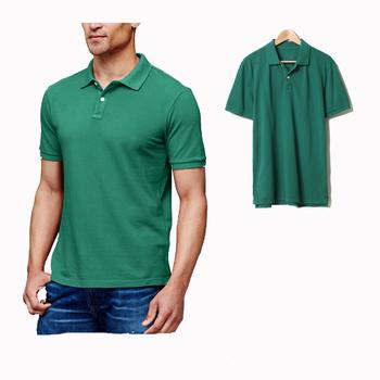 Venda Popular clássico mangas curtas camisas pólo camisa polo dos homens  tecido b6412aebc9839