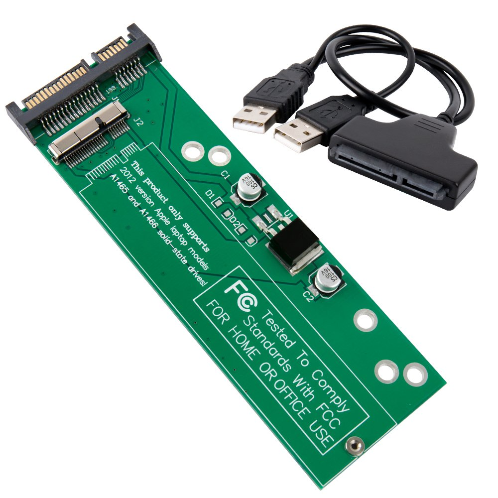 Kabel Fleksibel Hdd Hard Disk Untuk Macbook Pro A1278 Md1017 Flexibel 821 1480 A Cable Apple 2012 Get Quotations Shinestar Ssd To Sata Or Usb Adapter Card For Year Only