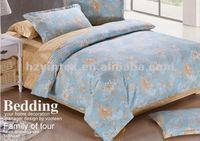 2012 Fashion 100% Cotton/Microfiber/Polyester Bed Sheet