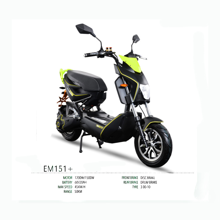 New style motorcycle electric 2 seat scoote