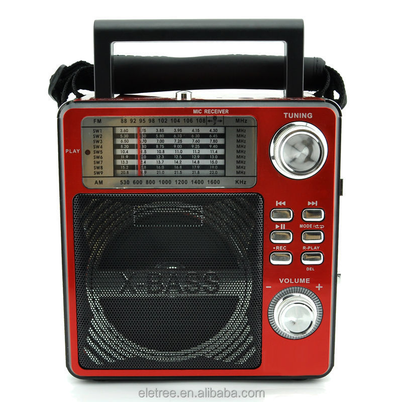 recordable am fm shortwave radio el 242uar karaoke radios for sale buy radios for sale. Black Bedroom Furniture Sets. Home Design Ideas