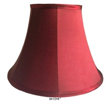 2018 new red fabric table lamp shade