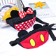 2018 New design kids canvas fanny pack Fashion cute baby waist bag
