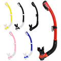 Whale Multi color Total Dry Snorkel Diving Snorkeling Swimming Snorkel Tube Dual Valve SK100