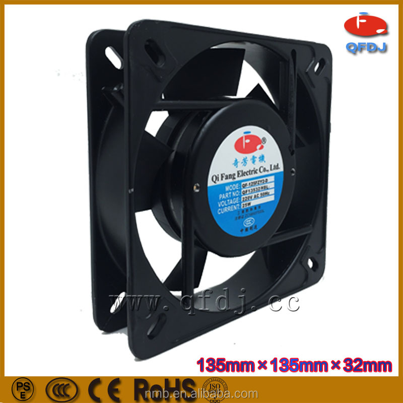 ac 13532 industrial commercial ventilation exhaust fan cross flow ventilation fan ac motor external cooling fan