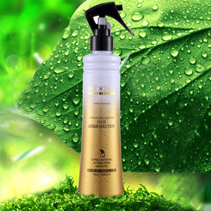 Hot sale glossy nourishing private label hair repair keratin hair straighten lotion black hair care products wholesale