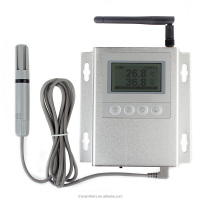 GSM alarm temperature data logger SMS message/temperature humidity meter