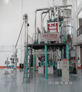 60TPD maize flour milling machines