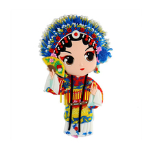 Creative Peking opera tourist souvenir 3D soft pvc fridge magnet