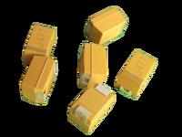 Chip Tantalum capacitor , SMD, CA45,4V-50V, 0.1uF~680uF,