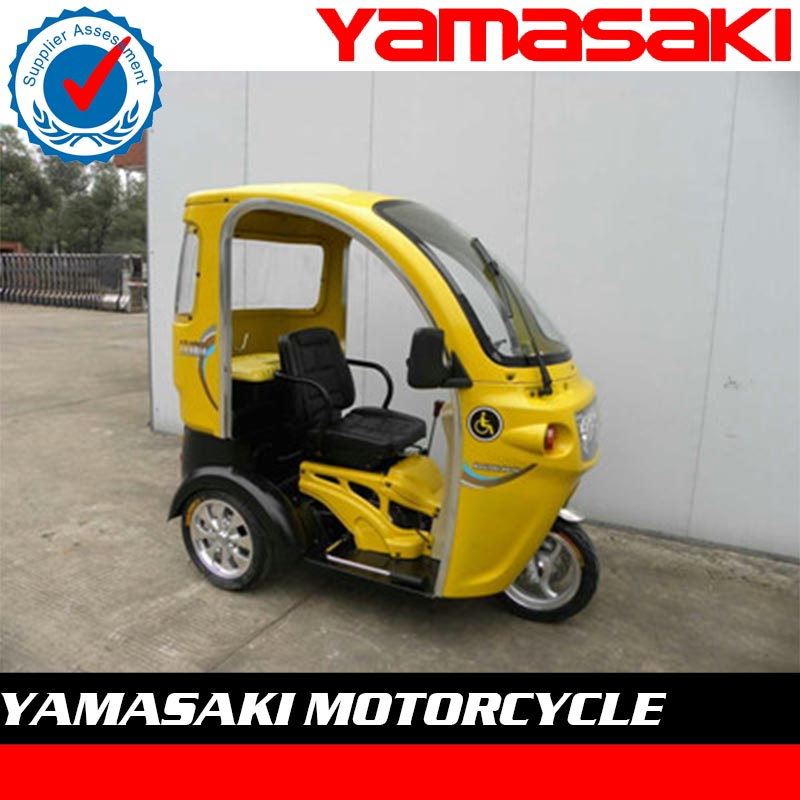 3 wheel vehicle electric tricycle with doors for passenger