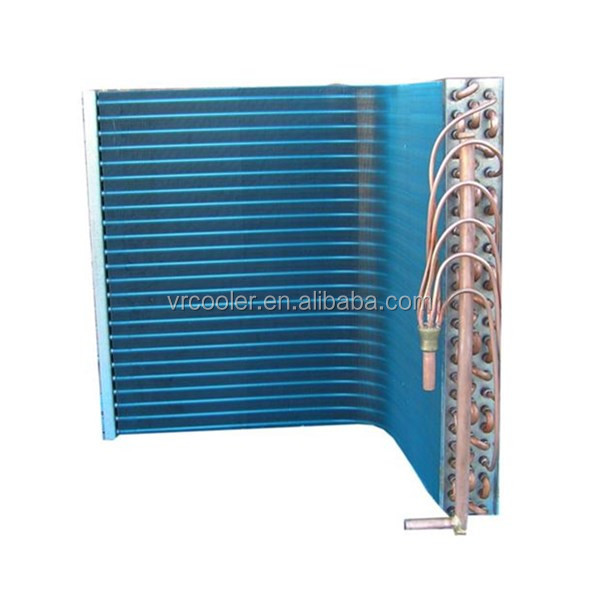Air conditioner heat exchanger for wall split ac cooper tube aluminum fin