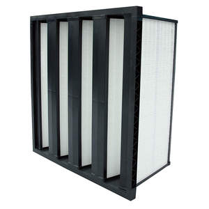 mini-pleated compact air filter F7