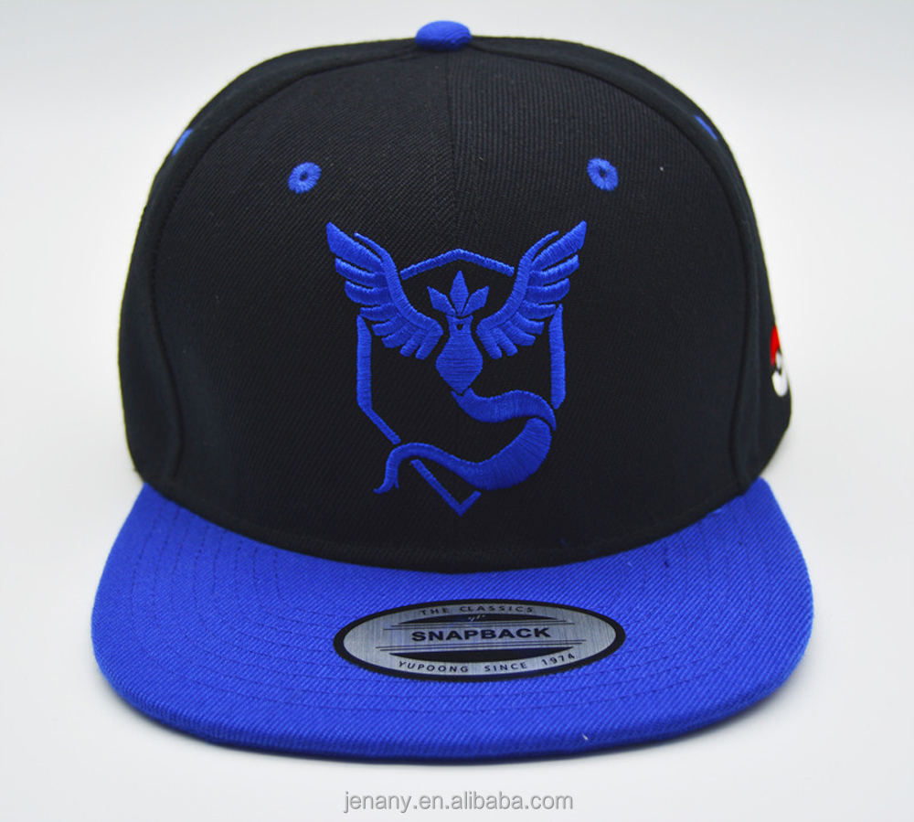 Custom 3D Embroidery Snapback Hats Wholesale Customize Snapback Caps With Stickers Snapback