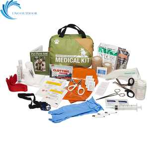 FDA and CE approved outdoor multifunction adventure dog series emergency pet first aid kit