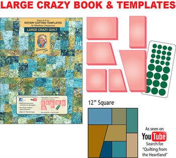 Crazy Quilt Template Set - Buy Quilting Templates Sharlene Shar Char ...