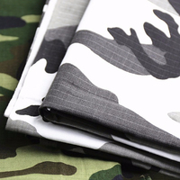 best sell custom design digital printed snow camouflage fabric