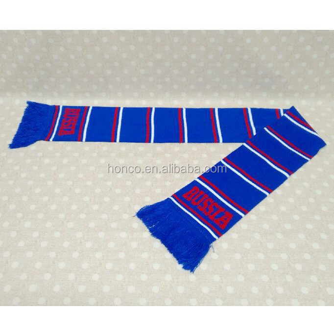 Russia Customing Printing Quality SCARF 100% acrylic woven 130*20cm