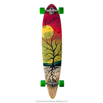 Paradox Longboards 41x9.5inch Pintail Skateboard Cheap Longboards For Sale