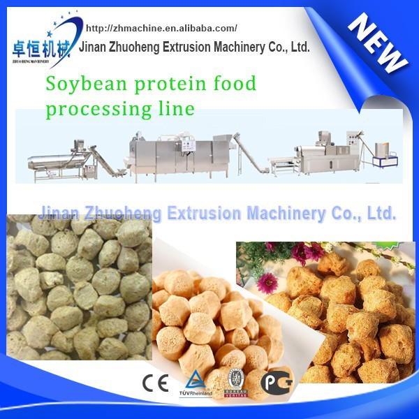Textured or texturized vegetable protein making machine