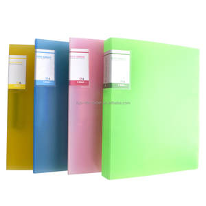 wholesale A4 office&school file folder 2 ring folder binder